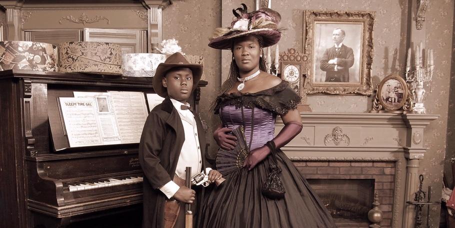 Gunslinger and Southern Belle