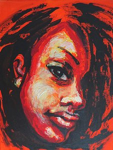 original, figurative acrylics painting on canvas