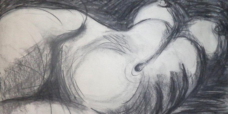 Private Moment - Female Nude