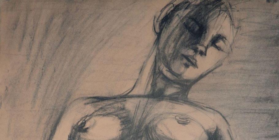 Sleeping - Female Nude