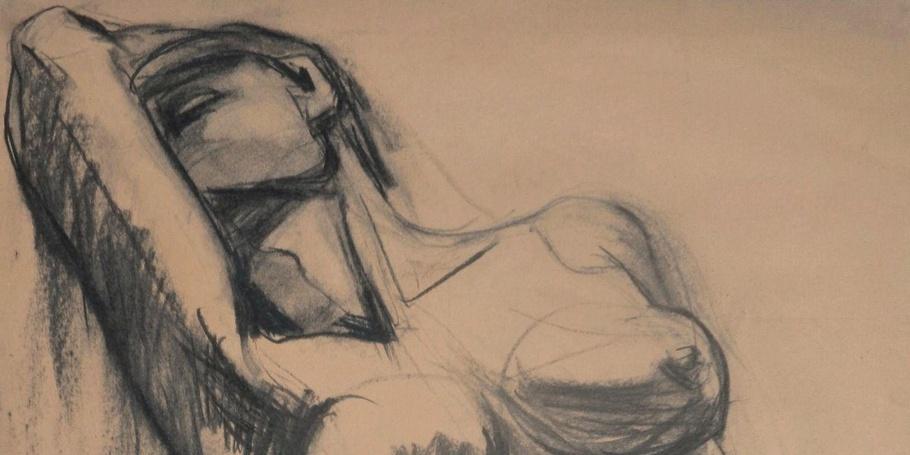 Dramatic - Female Nude