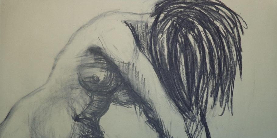 Dramatic 4 - Female Nude