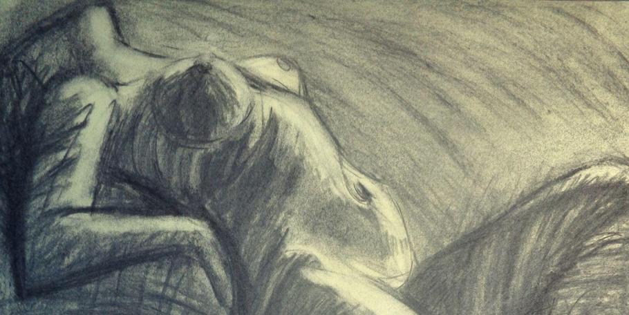 Dramatic 5 - Female Nude