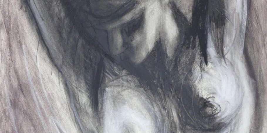 Kneeling 3 - Female Nude