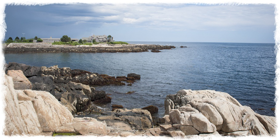 Bush Compound At Walker's Point Kennebunkport Maine