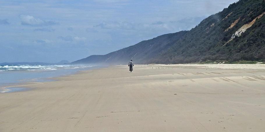 Noosa's 40 mile beach