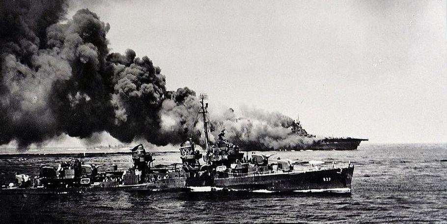 Gallery-USS Bunker Hill (CV-17): N375C