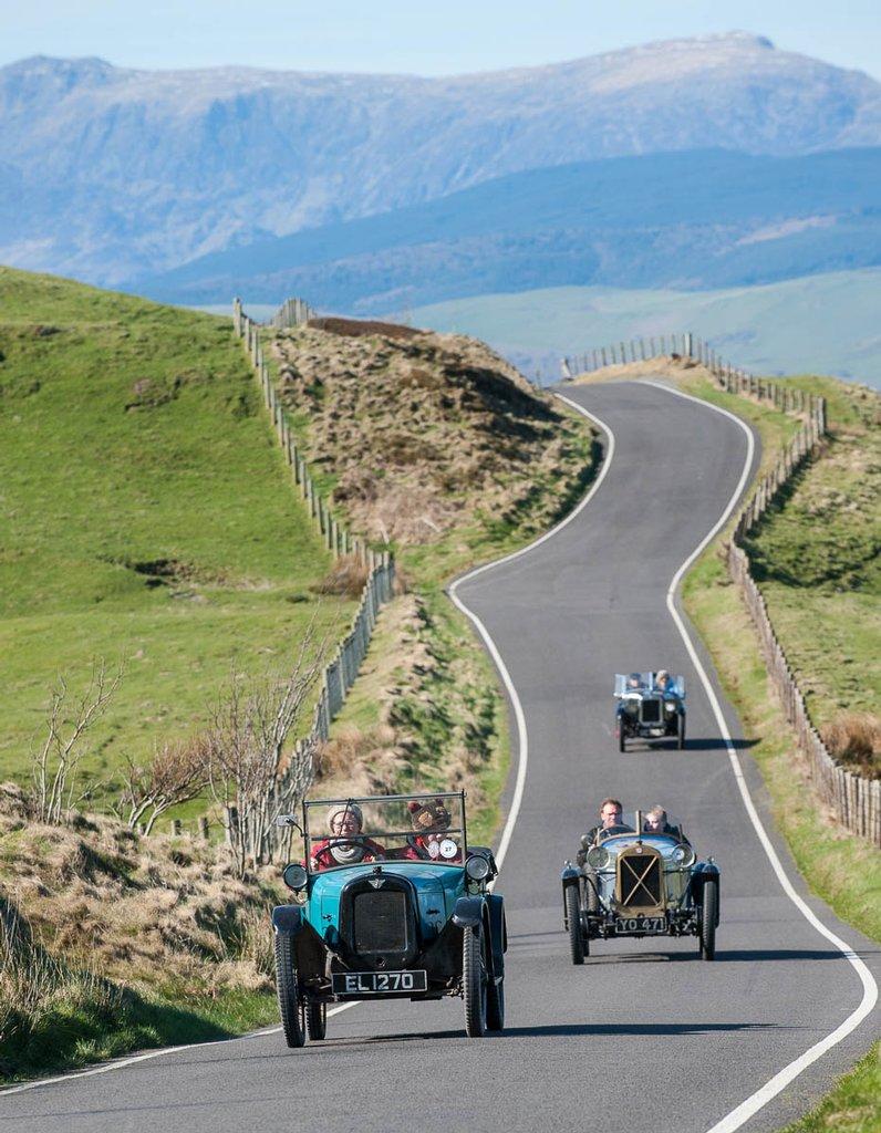 Light Car and Edwardian Welsh Tour