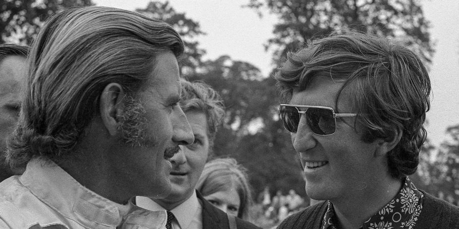 Image Archive : Graham Hill and Jochen Rindt, 1970
