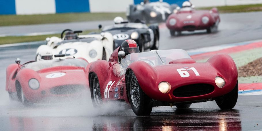 Historic sports car racing