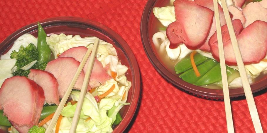 Japanese noodle bowl