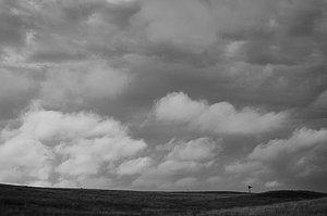 Windmill along the Teton Range