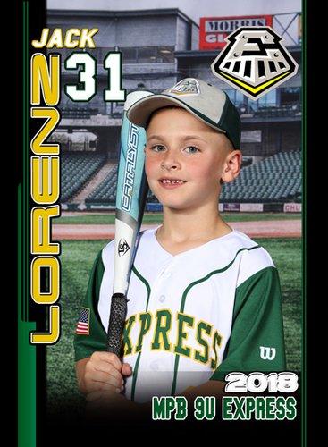 TRADER CARD FRONT (Baseball)