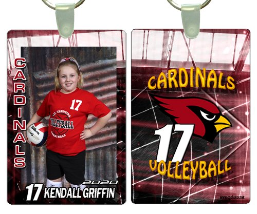 KEY CHAIN (volleyball)