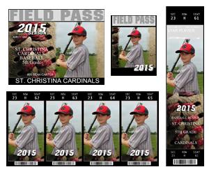Baseball Ticket Pak