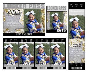 Cheer Ticket Pak