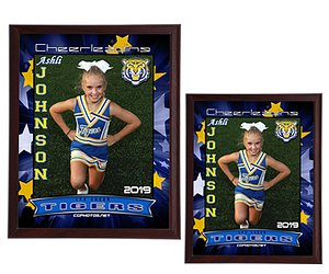 SPORTS WALL PLAQUE (Cheer)