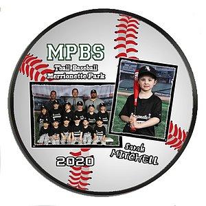 Baseball Wall Plaque