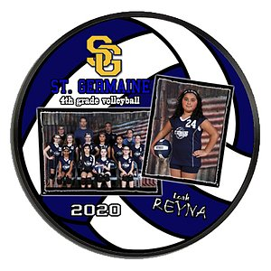 Volleyball Wall Plaque