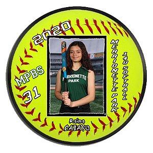 Baseball RND Plaque