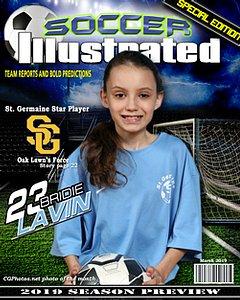 MAGAZINE COVER  (soccer)