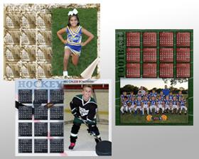 Team & Individual Photo Calendar