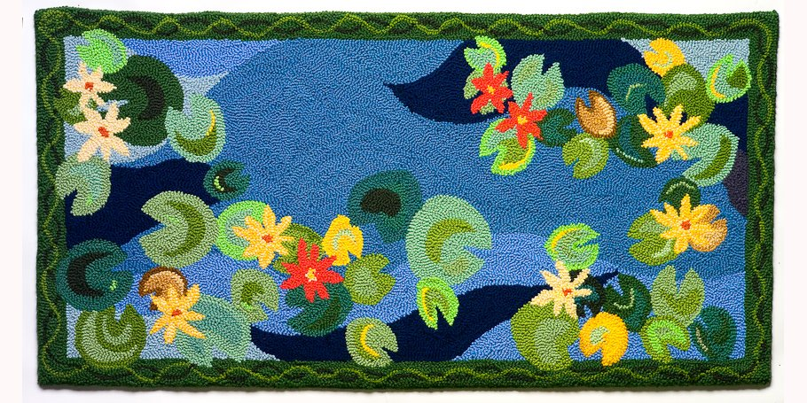 Photography of large rugs for catalogs and website