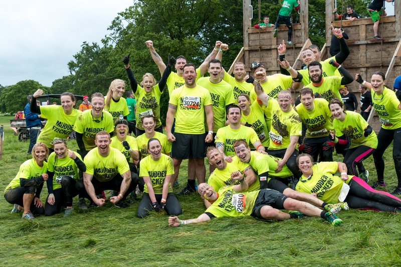 Team participation in Tough Mudder to raise funds for Help for Heros