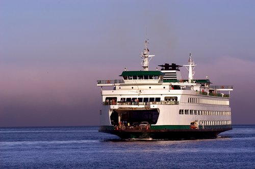 Ferry to San Juan Island
