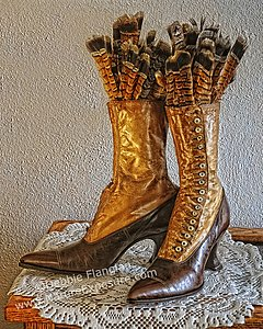 Grouse Shoes - photo by Debbie Flanigan