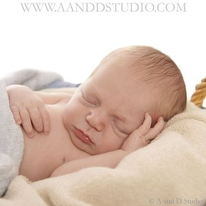 Newborn Baby Photography A and D Studio  Mentor Ohio