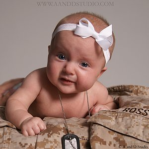Baby Photography at A and D Studio in Mentor, Ohio
