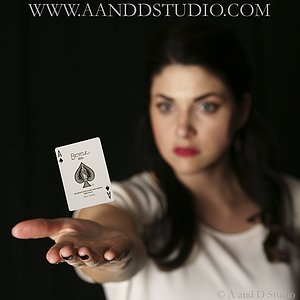 website photos magician stacey alan at A and D Studio Mentor Ohio