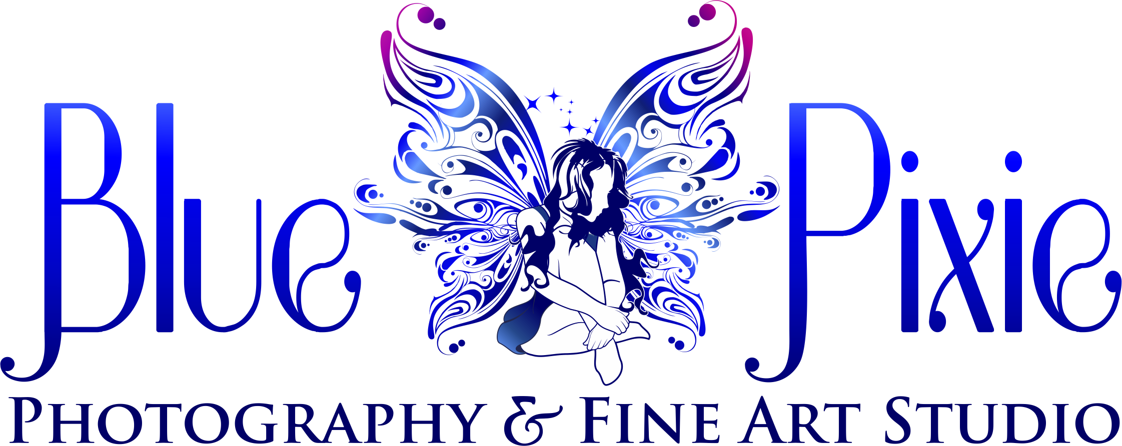 blue pixie photography & fine art / website design Good Ink