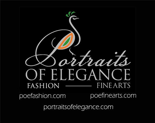 Portraits of Elegance Fashion Logo