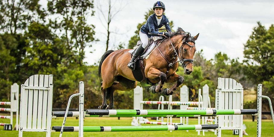 Jasmine Dennison - Port Phillip Show Jump Club 13 January 2018