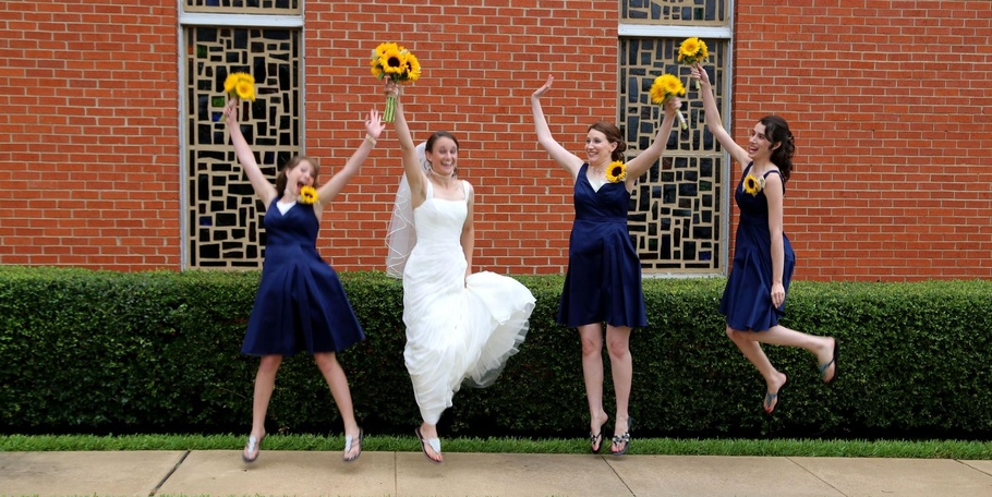 WEDDINGS - Don't forget to have fun!