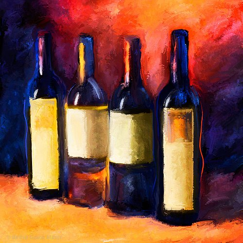 Four Friends from the Wine Cellar Collection