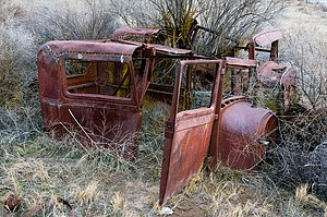 Old Ford Car