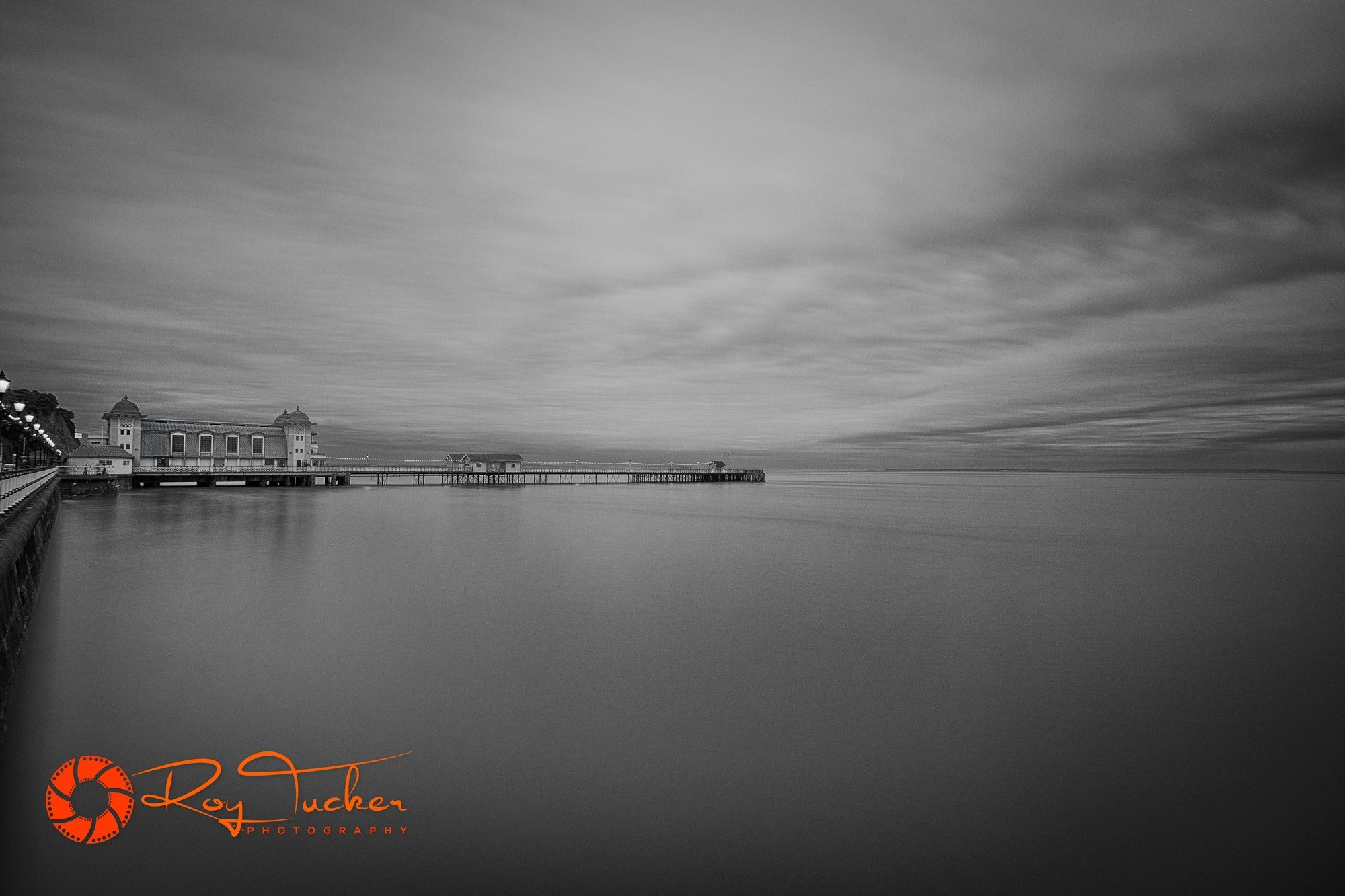 Penarth pier long exposure.