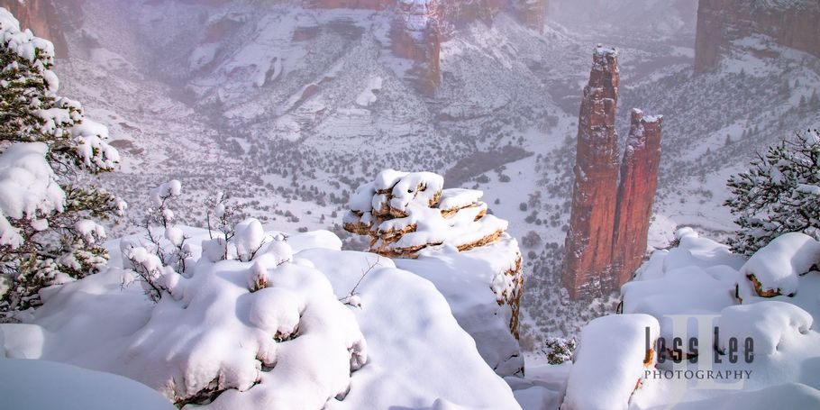 Spider Rock Southwest Winter
