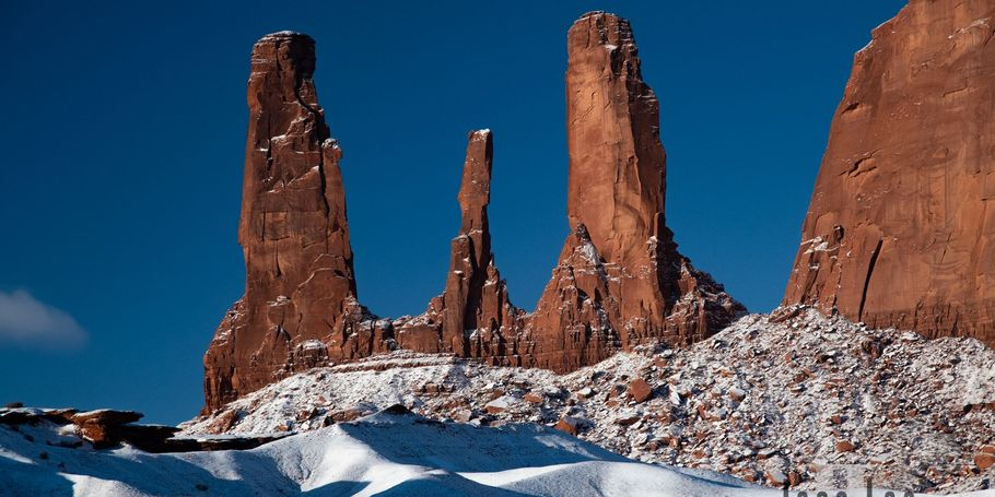Monument Valley Winter