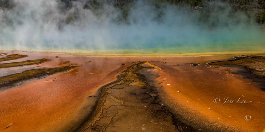 Grand Prismatic Hotsprings