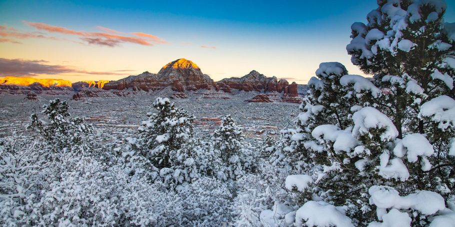 Winter in The Southwest Sedona