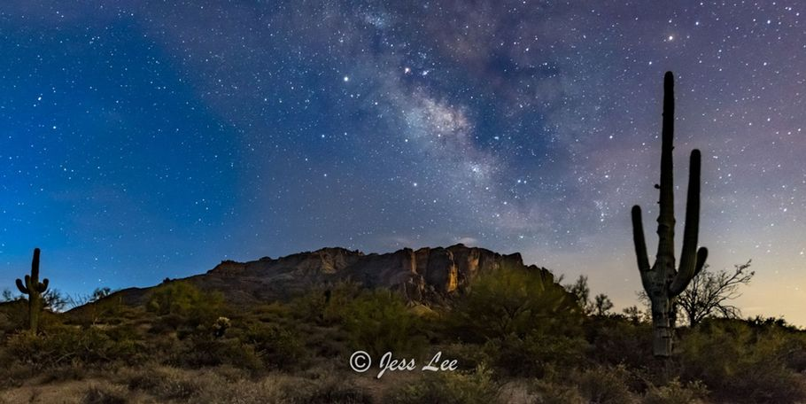 Milky Way during Arizona Spring