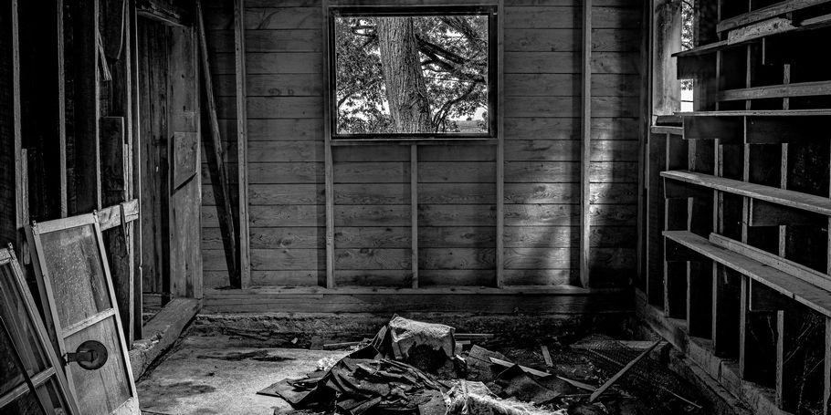 Inside an Old New England Barn