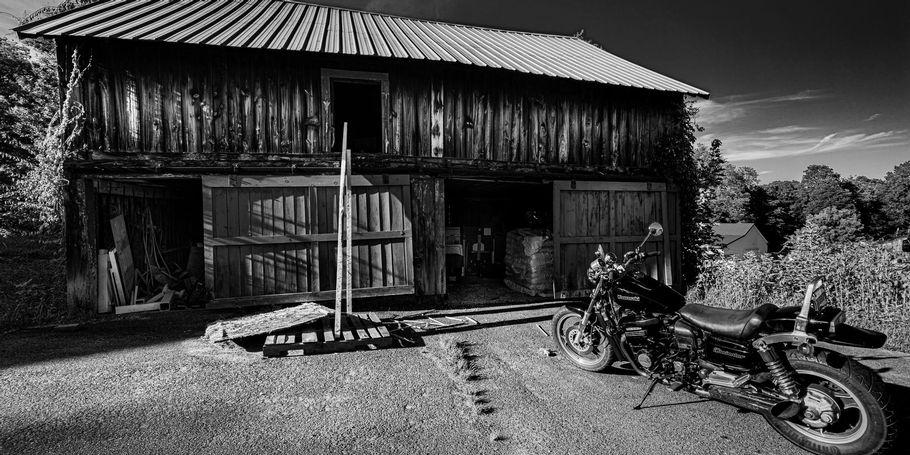 Old Barn, Old Bike