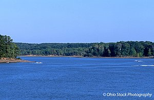 Lake at West Branch State Park photo by Ohio Stock Photography 1B524
