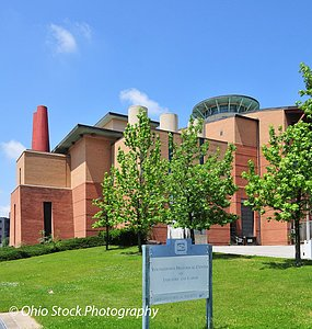 Youngstown Historical Center of Industry and Labor building photo by Ohio Stock Photography D39U99