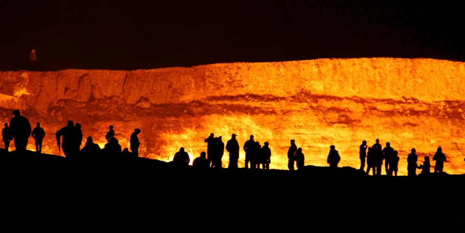 The Door to Hell -- Turkmenistan